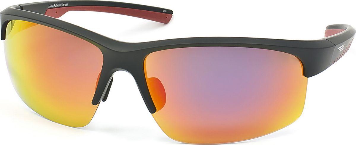 Очки поляризационные Legna, цвет: оранжевый, черный. S7701ABM8434-58AEСтильные солнцезащитные поляризационные очки в спортивном стиле Legna прекрасно подходят для повседневной носки, отдыха и для использования за рулем. Созданные с использованием последних достижений оптических технологий, они защитят ваши глаза от ультрафиолета, повреждений и ярких солнечных бликов. Поляризационные линзы высокого качества задерживают раздражающие блики, что гарантирует полный зрительный комфорт и, как результат, повышенную безопасность во время движения.