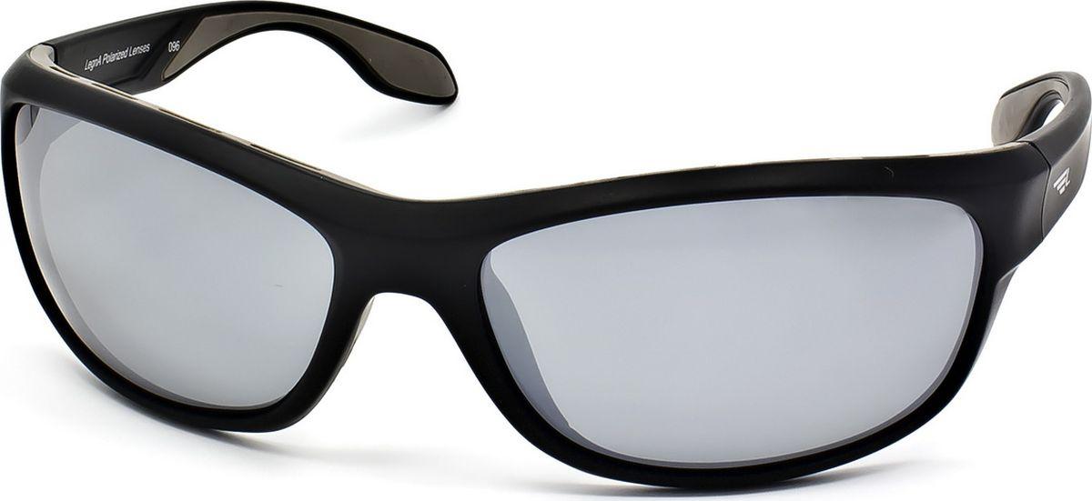 Очки поляризационные Legna, цвет: серый металлик, черный. S7702ABM8434-58AEСтильные солнцезащитные поляризационные очки в спортивном стиле Legna прекрасно подходят для повседневной носки, отдыха и для использования за рулем. Созданные с использованием последних достижений оптических технологий, они защитят ваши глаза от ультрафиолета, повреждений и ярких солнечных бликов. Поляризационные линзы высокого качества задерживают раздражающие блики, что гарантирует полный зрительный комфорт и, как результат, повышенную безопасность во время движения.