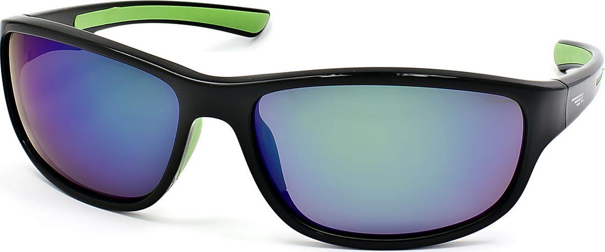 Очки поляризационные Legna, цвет: зеленый, черный. S7703ABM8434-58AEСолнцезащитные поляризационные очки Legna в спортивном стиле прекрасно подходят для повседневной носки, занятий спортом, отдыха и для использования за рулем. Созданные с использованием последних достижений оптических технологий, они защитят ваши глаза от ультрафиолета, повреждений и ярких солнечных бликов. Семислойные поляризационные линзы высокого качества задерживают раздражающие блики, что гарантирует полный зрительный комфорт и, как результат, повышенную безопасность во время движения.Особенности: - Два защитных слоя, обеспечивающие высокую стойкость линз к царапинам и оптимальную долговечность. - Два амортизационных слоя, гарантирующие непревзойденную ударопрочность и физическую защиту глаз. - Два слоя ультрафиолетового фильтра, исключающие проникновение вредоносного излучения.