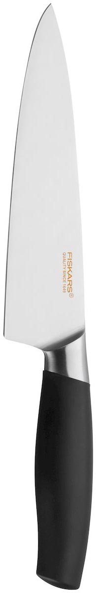 Нож поварской Fiskars Functional Form Plus, длина лезвия 17 см1016008Нож Fiskars Functional Form Plus идеально сбалансирован, чтобы обеспечить точную и легкую нарезку продуктов. Благодаря тщательно подобранным материалам нож легко использовать, легко мыть и легко хранить. Крепкое лезвие, выполненное из нержавеющей стали, идеально справляется с большинством задач. Удобная ручка изготовлена из полипропилена с гладким покрытием.Можно мыть в посудомоечной машине.