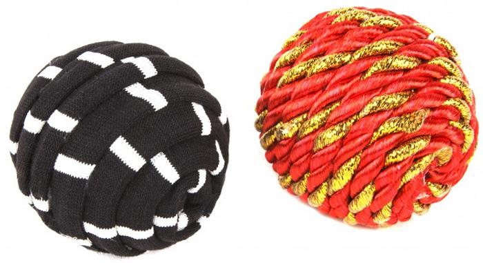 Игрушка для кошек GLG Веселые мячики, цвет: черный, красный, 2 шт0120710Игрушки для кошки GLG Веселые мячики выполнены из полиакрила и нити х/б. Кошки очень любят играть с игрушками и с мячиками. Диаметр: 4 см.В комплекте 2 мяча.