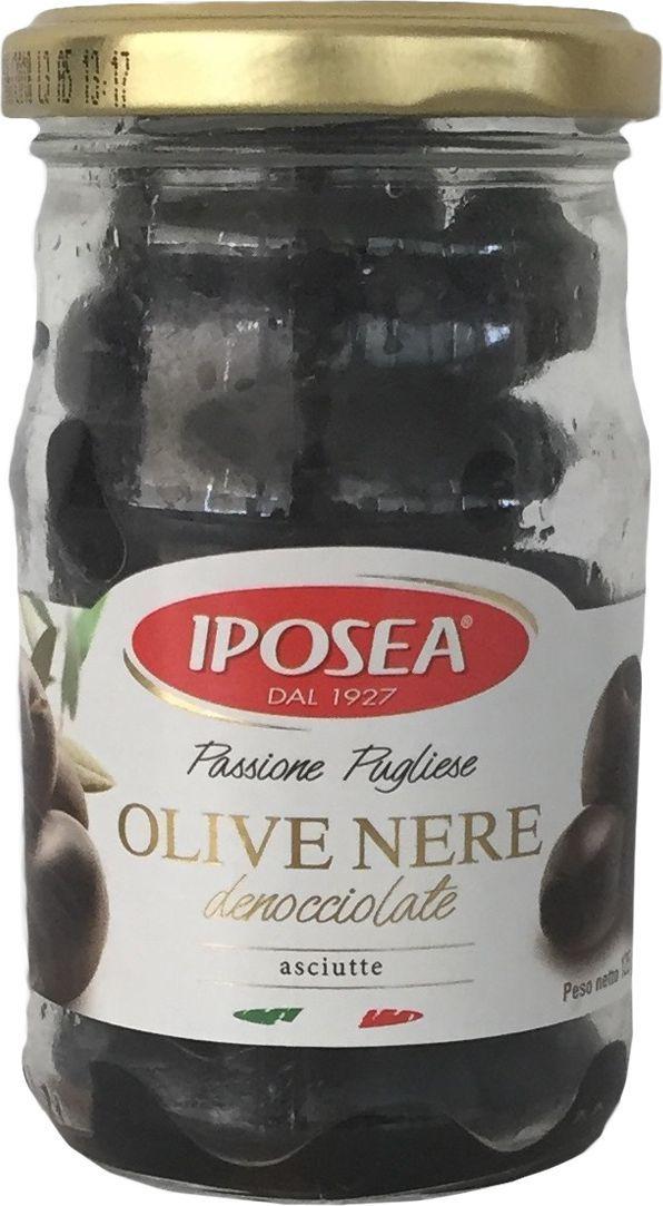 Iposea Маслины без косточки, без жидкости, 125 г24Маслины И.П.О.С.Е.А. без жидкости имеют более мягкую текстуру, их подают на стол со свежим хлебом и сыром, козьим или овечьим.
