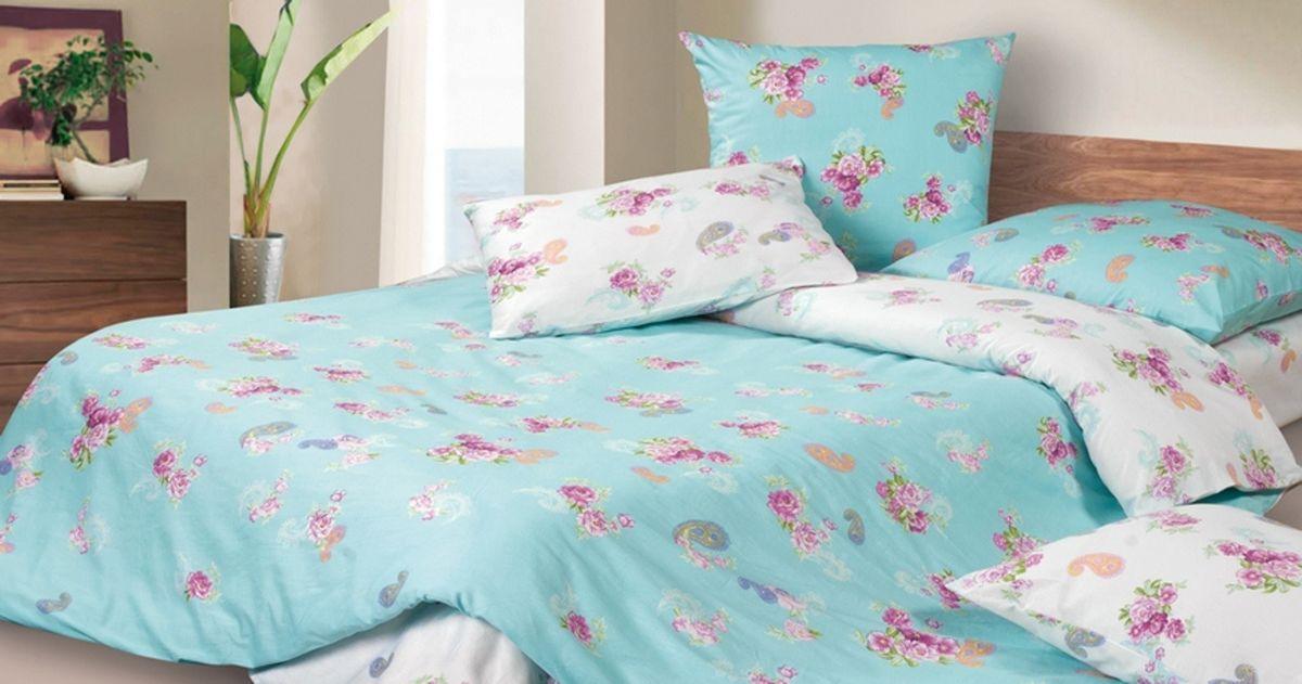 Комплект постельного белья Ecotex Гармоника Марсель, цвет: голубой. Евро391602Коллекция постельного бельяГармоника от Ecotex — это уникальное сочетание мягкости и нежности благородного сатина со свежестью дизайнерских решений.Коллекция представлена десятками вариантов расцветок, среди которых можно найти как нежные пастельные решения, так и яркие стильные оттенки, паттерны и их оригинальные сочетания. Сатиновая коллекция Гармоника рассчитана на взыскательных потребителей, ценящих стиль, оригинальный дизайн, а также собственный комфорт и нежное прикосновение ткани.