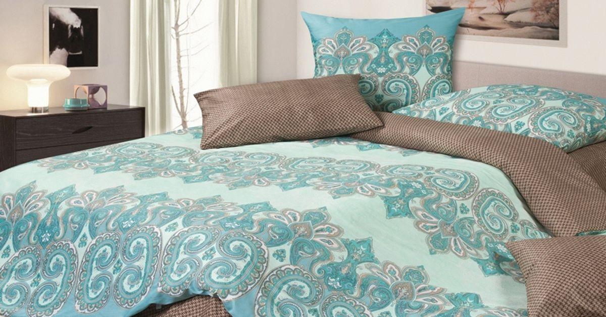 Комплект постельного белья Ecotex Гармоника Персей, цвет: голубой. 2-х спальный с простыней ЕвроS03301004Коллекция постельного бельяГармоника от Ecotex — это уникальное сочетание мягкости и нежности благородного сатина со свежестью дизайнерских решений.Коллекция представлена десятками вариантов расцветок, среди которых можно найти как нежные пастельные решения, так и яркие стильные оттенки, паттерны и их оригинальные сочетания. Сатиновая коллекция Гармоника рассчитана на взыскательных потребителей, ценящих стиль, оригинальный дизайн, а также собственный комфорт и нежное прикосновение ткани.