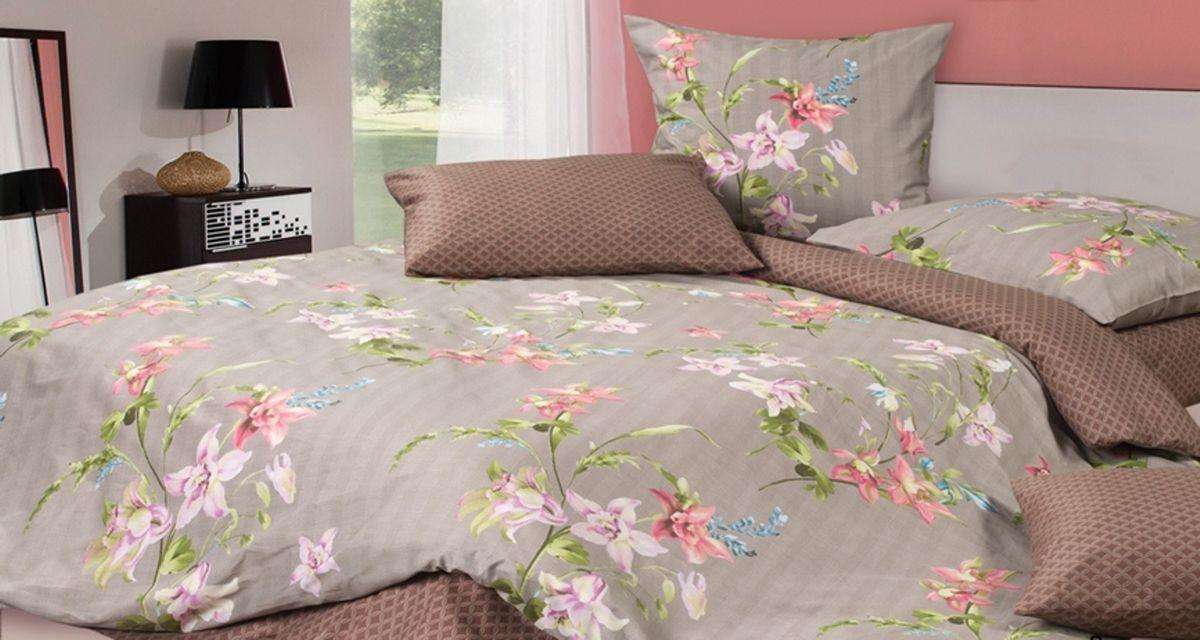 Комплект постельного белья Ecotex Гармоника Лилиан, цвет: коричневый. Семейный10503Коллекция постельного бельяГармоника от Ecotex — это уникальное сочетание мягкости и нежности благородного сатина со свежестью дизайнерских решений.Коллекция представлена десятками вариантов расцветок, среди которых можно найти как нежные пастельные решения, так и яркие стильные оттенки, паттерны и их оригинальные сочетания. Сатиновая коллекция Гармоника рассчитана на взыскательных потребителей, ценящих стиль, оригинальный дизайн, а также собственный комфорт и нежное прикосновение ткани.