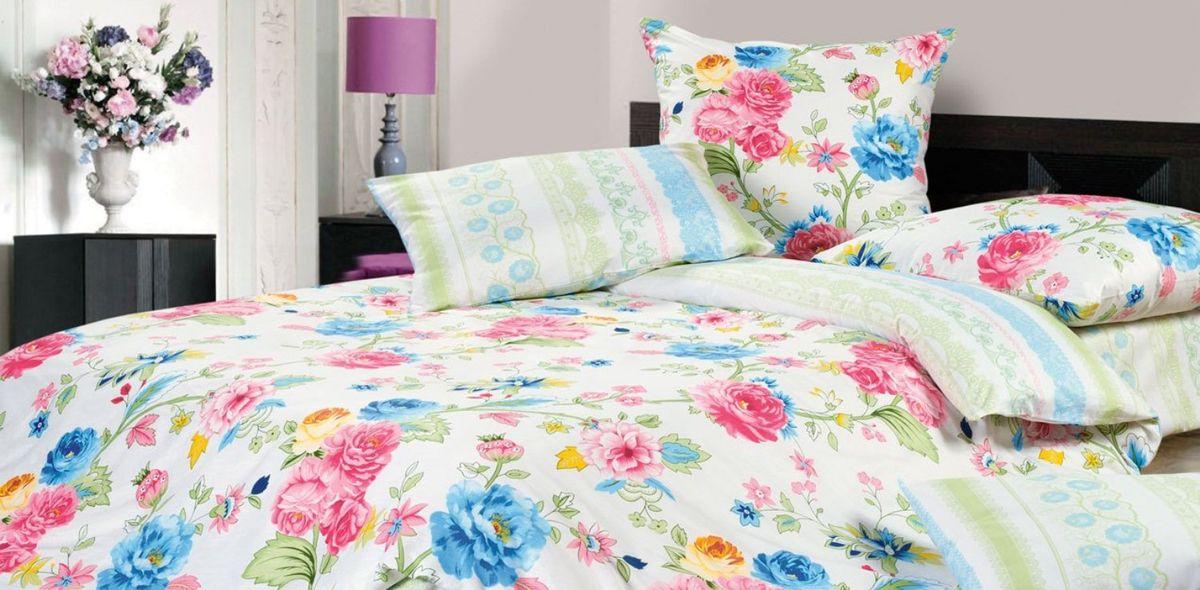 Комплект постельного белья Ecotex Гармоника Розалия, цвет: голубой. Евро10503Коллекция постельного бельяГармоника от Ecotex — это уникальное сочетание мягкости и нежности благородного сатина со свежестью дизайнерских решений.Коллекция представлена десятками вариантов расцветок, среди которых можно найти как нежные пастельные решения, так и яркие стильные оттенки, паттерны и их оригинальные сочетания. Сатиновая коллекция Гармоника рассчитана на взыскательных потребителей, ценящих стиль, оригинальный дизайн, а также собственный комфорт и нежное прикосновение ткани.