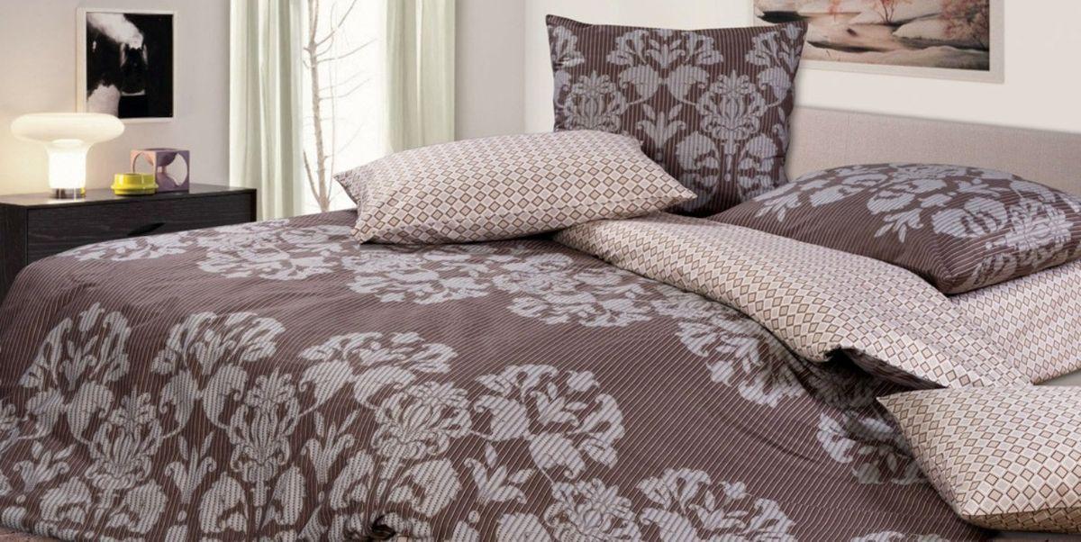Комплект постельного белья Ecotex Гармоника Раджа, цвет: коричневый. 2-х спальный с простыней Евро790009Коллекция постельного бельяГармоника от Ecotex — это уникальное сочетание мягкости и нежности благородного сатина со свежестью дизайнерских решений.Коллекция представлена десятками вариантов расцветок, среди которых можно найти как нежные пастельные решения, так и яркие стильные оттенки, паттерны и их оригинальные сочетания. Сатиновая коллекция Гармоника рассчитана на взыскательных потребителей, ценящих стиль, оригинальный дизайн, а также собственный комфорт и нежное прикосновение ткани.