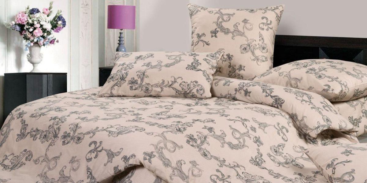 Комплект постельного белья Ecotex Гармоника Рошель, цвет: бежевый. 1,5 спальныйU210DFКоллекция постельного бельяГармоника от Ecotex — это уникальное сочетание мягкости и нежности благородного сатина со свежестью дизайнерских решений.Коллекция представлена десятками вариантов расцветок, среди которых можно найти как нежные пастельные решения, так и яркие стильные оттенки, паттерны и их оригинальные сочетания. Сатиновая коллекция Гармоника рассчитана на взыскательных потребителей, ценящих стиль, оригинальный дизайн, а также собственный комфорт и нежное прикосновение ткани.