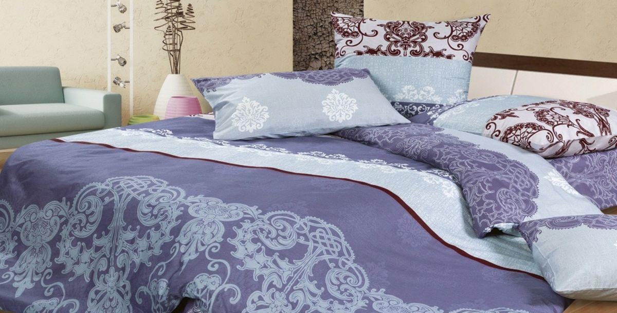Комплект постельного белья Ecotex Гармоника Кармен, цвет: фиолетовый. 2-х спальный с простыней Евро10503Коллекция постельного бельяГармоника от Ecotex — это уникальное сочетание мягкости и нежности благородного сатина со свежестью дизайнерских решений.Коллекция представлена десятками вариантов расцветок, среди которых можно найти как нежные пастельные решения, так и яркие стильные оттенки, паттерны и их оригинальные сочетания. Сатиновая коллекция Гармоника рассчитана на взыскательных потребителей, ценящих стиль, оригинальный дизайн, а также собственный комфорт и нежное прикосновение ткани.