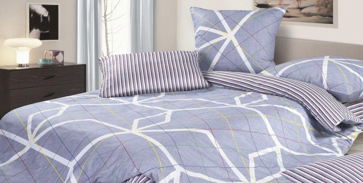 Комплект постельного белья Ecotex Гармоника Умберто, цвет: фиолетовый. 2-х спальный с простыней Евро20736Коллекция постельного бельяГармоника от Ecotex — это уникальное сочетание мягкости и нежности благородного сатина со свежестью дизайнерских решений.Коллекция представлена десятками вариантов расцветок, среди которых можно найти как нежные пастельные решения, так и яркие стильные оттенки, паттерны и их оригинальные сочетания. Сатиновая коллекция Гармоника рассчитана на взыскательных потребителей, ценящих стиль, оригинальный дизайн, а также собственный комфорт и нежное прикосновение ткани.
