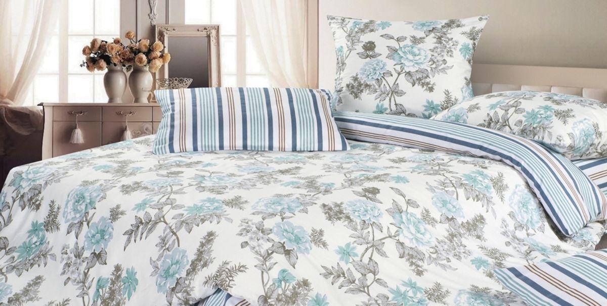 Комплект постельного белья Ecotex Гармоника Роберто, цвет: голубой. ЕвроES-412Коллекция постельного бельяГармоника от Ecotex — это уникальное сочетание мягкости и нежности благородного сатина со свежестью дизайнерских решений.Коллекция представлена десятками вариантов расцветок, среди которых можно найти как нежные пастельные решения, так и яркие стильные оттенки, паттерны и их оригинальные сочетания. Сатиновая коллекция Гармоника рассчитана на взыскательных потребителей, ценящих стиль, оригинальный дизайн, а также собственный комфорт и нежное прикосновение ткани.