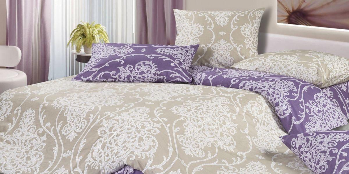 Комплект постельного белья Ecotex Гармоника Россини, цвет: фиолетовый. Евро391602Коллекция постельного бельяГармоника от Ecotex — это уникальное сочетание мягкости и нежности благородного сатина со свежестью дизайнерских решений.Коллекция представлена десятками вариантов расцветок, среди которых можно найти как нежные пастельные решения, так и яркие стильные оттенки, паттерны и их оригинальные сочетания. Сатиновая коллекция Гармоника рассчитана на взыскательных потребителей, ценящих стиль, оригинальный дизайн, а также собственный комфорт и нежное прикосновение ткани.