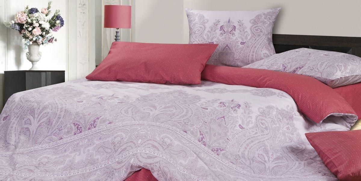 Комплект постельного белья Ecotex Гармоника Рибба, цвет: фиолетовый. Евро98299571Коллекция постельного бельяГармоника от Ecotex — это уникальное сочетание мягкости и нежности благородного сатина со свежестью дизайнерских решений.Коллекция представлена десятками вариантов расцветок, среди которых можно найти как нежные пастельные решения, так и яркие стильные оттенки, паттерны и их оригинальные сочетания. Сатиновая коллекция Гармоника рассчитана на взыскательных потребителей, ценящих стиль, оригинальный дизайн, а также собственный комфорт и нежное прикосновение ткани.