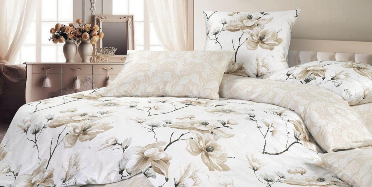 Комплект постельного белья Ecotex Гармоника Рузена, цвет: бежевый. 1,5 спальный391602Коллекция постельного бельяГармоника от Ecotex — это уникальное сочетание мягкости и нежности благородного сатина со свежестью дизайнерских решений.Коллекция представлена десятками вариантов расцветок, среди которых можно найти как нежные пастельные решения, так и яркие стильные оттенки, паттерны и их оригинальные сочетания. Сатиновая коллекция Гармоника рассчитана на взыскательных потребителей, ценящих стиль, оригинальный дизайн, а также собственный комфорт и нежное прикосновение ткани.