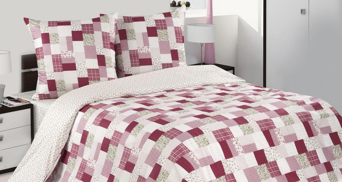 Комплект постельного белья Ecotex Поэтика Бродерик, цвет: фиолетовый. Евро391602Высококачественный поплин позволяет коже дышать в течение всей ночи, обладает расслабляющим эффектом. Насладившись полноценным сном, Вы проснетесь наутро с новым зарядом энергии и хорошего настроения.