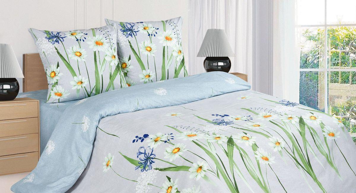 Комплект постельного белья Ecotex Поэтика Кларисса, цвет: голубой. 1,5 спальный98299571Высококачественный поплин позволяет коже дышать в течение всей ночи, обладает расслабляющим эффектом. Насладившись полноценным сном, Вы проснетесь наутро с новым зарядом энергии и хорошего настроения.
