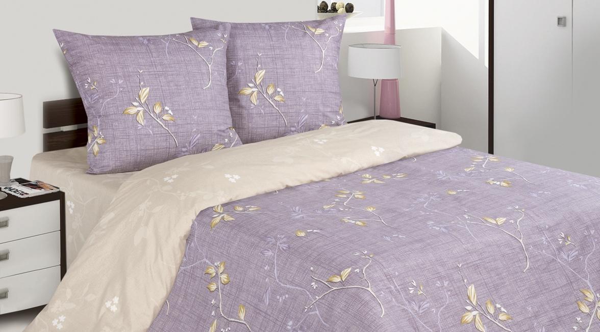 Комплект постельного белья Ecotex Поэтика Тьена, цвет: фиолетовый. 2-х спальный391602Высококачественный поплин позволяет коже дышать в течение всей ночи, обладает расслабляющим эффектом. Насладившись полноценным сном, Вы проснетесь наутро с новым зарядом энергии и хорошего настроения.