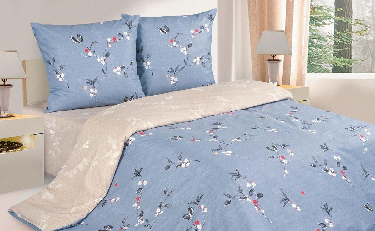 Комплект постельного белья Ecotex Поэтика Аванти, цвет: голубой. 1,5 спальный391602Высококачественный поплин позволяет коже дышать в течение всей ночи, обладает расслабляющим эффектом. Насладившись полноценным сном, Вы проснетесь наутро с новым зарядом энергии и хорошего настроения.