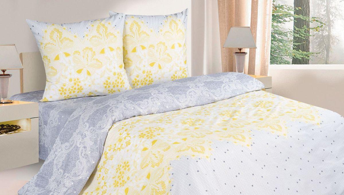 Комплект белья Ecotex Филигрань, семейный, наволочки 70х70, цвет: желтый, голубойКПДКомплект постельного белья Ecotex выполнен из поплина (100% хлопок). Высококачественный поплин позволяет коже дышать в течение всей ночи и обладает расслабляющим эффектом. Насладившись полноценным сном, вы проснетесь с новым зарядом энергии и хорошего настроения. Комплект состоит из 2 пододеяльников, простыни и 2 наволочек. Белье дополнено оригинальным рисунком под кружево. Коллекция Поэтика рассчитана на взыскательных потребителей, ценящих стиль, оригинальный дизайн, а также собственный комфорт и нежное прикосновение ткани.