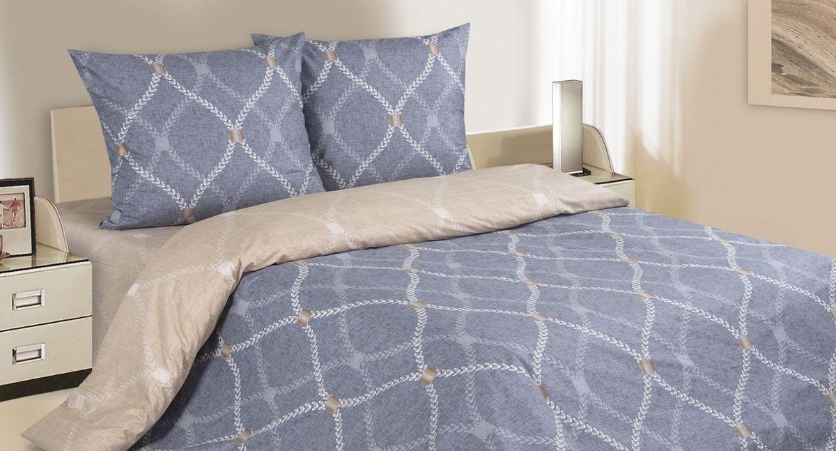 Комплект белья Ecotex Поэтика Портленд, 1,5-спальный, наволочки 70х7008330-КПБ-МКомплект белья Ecotex Поэтика, выполненный из высококачественного поплина, позволяет коже дышать в течение всей ночи, обладает расслабляющим эффектом. Насладившись полноценным сном, вы проснетесь наутро с новым зарядом энергии и хорошего настроения. Комплект состоит из пододеяльника, простыни и двух наволочек. Изделия дополнены красивым рисунком.