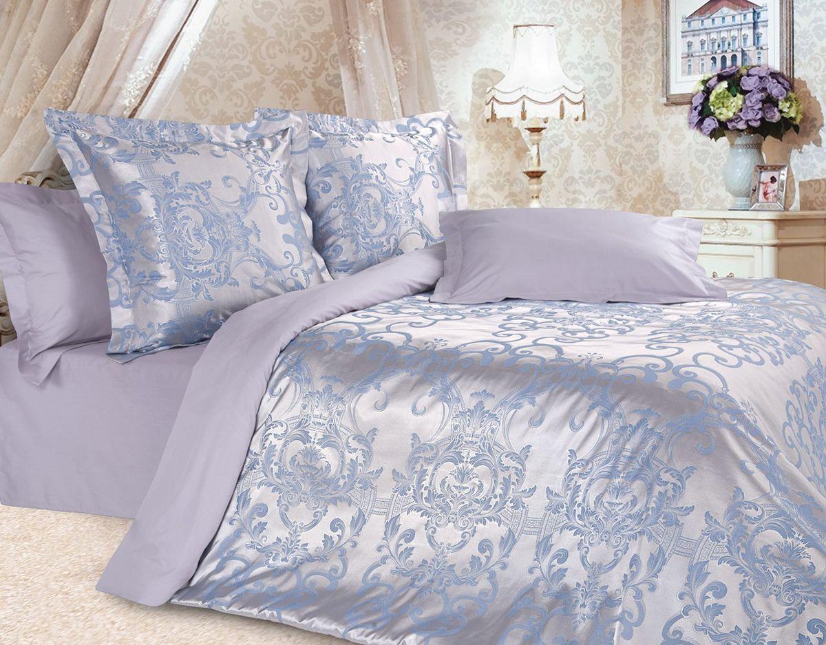 Комплект постельного белья Ecotex Эстетика Севилья, цвет: фиолетовый. 1,5 спальныйVCA-00Изысканная коллекция Estetica из жаккардового сатина — это утонченное удовольствие, рожденное неповторимым сочетанием перламутрового блеска и матовой сдержанности.