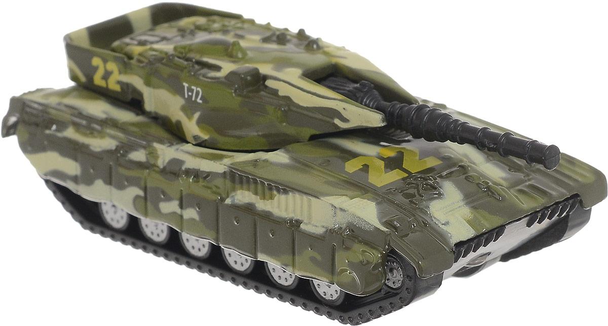 ТехноПарк Машинка Военная техника №22 Танк