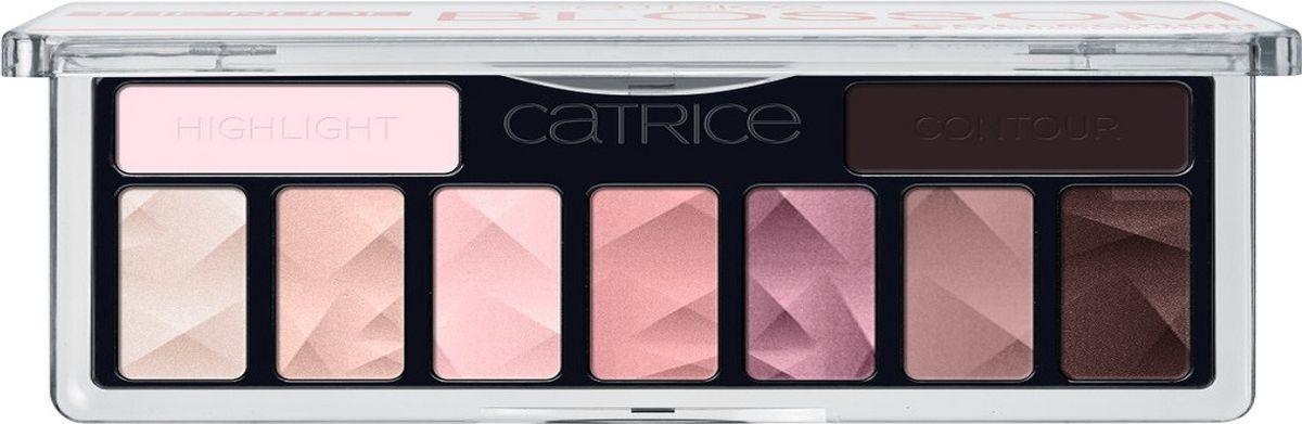 Catrice Тени для век The Nude Blossom Collection Eyeshadow Palette 010 розовый нюд , 83 г221766Девять высокопигментированных и стойких оттенков, включая темный матовый для контуринга глаз, а также хайлайтер для расстановки световых акцентов.