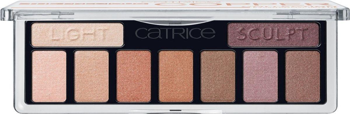 Catrice Тени для век The Precious Copper Collection Eyeshadow Palette 010 медные, 83 ргSatin Hair 7 BR730MNДевять высокопигментированных и стойких оттенков, включая темный матовый для контуринга глаз, а также хайлайтер для расстановки световых акцентов.