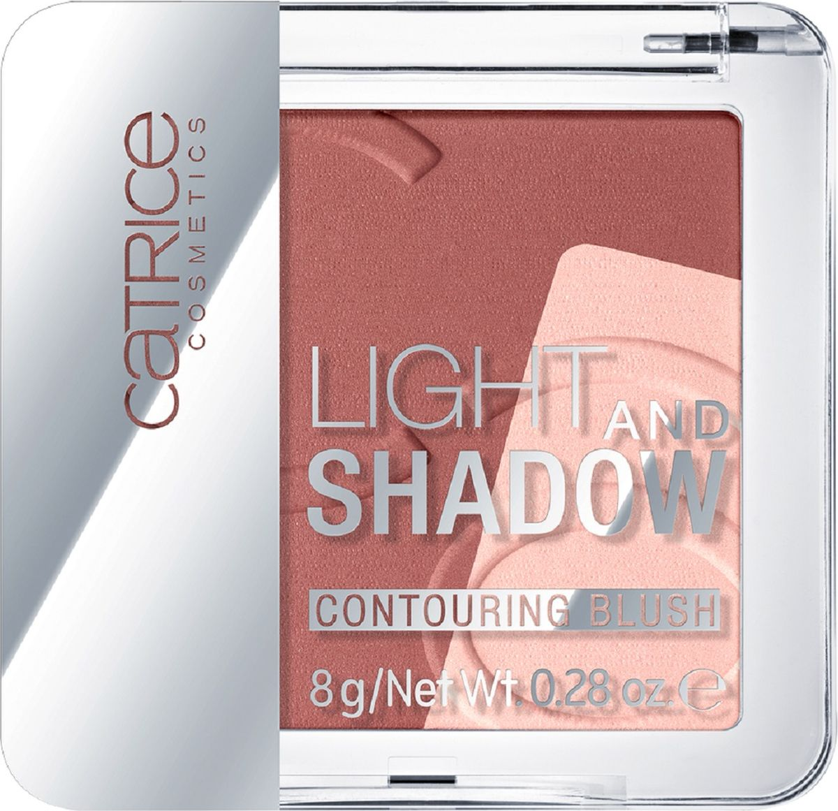 Catrice Румяня Light And Shadow Contouring Blush 010 Bronze Me Up, Scotty темно-розовый, 8 г6Ультрамягкие пудровые румяна представлены в трех палетках, каждая из которых объединяет в себе темный бархатисто-матовый оттенок для контуринга и мерцающий хайлайтер для придания деликатного сияния. Оттенки можно использовать по-отдельности для того, чтобы подчеркнуть рельеф лица, либо смешать для получения свежего оттенка с легким сиянием.