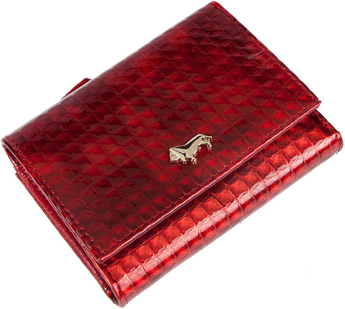 Кошелек женский Labbra, цвет: красный. L053-1194BM8434-58AEЖенский кошелёк торговой марки LABBRA из натуральной кожи. Модель закрывается на кнопку. В кошельке есть одно складывающееся отделения для крупных купюр, 6 отделений для кредитных и дисконтных карт. Отделение для мелочи - снаружи, закрывается на молнию, имеет два отделения.