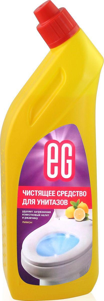 Средство для чистки унитаза EG Еврогарант Лимон, 750 млGC204/30Лимон. Чистящее средство для унитазов - гель. Удаляет загрязнения, известковый налет и ржавчину, придает блеск. 750 мл