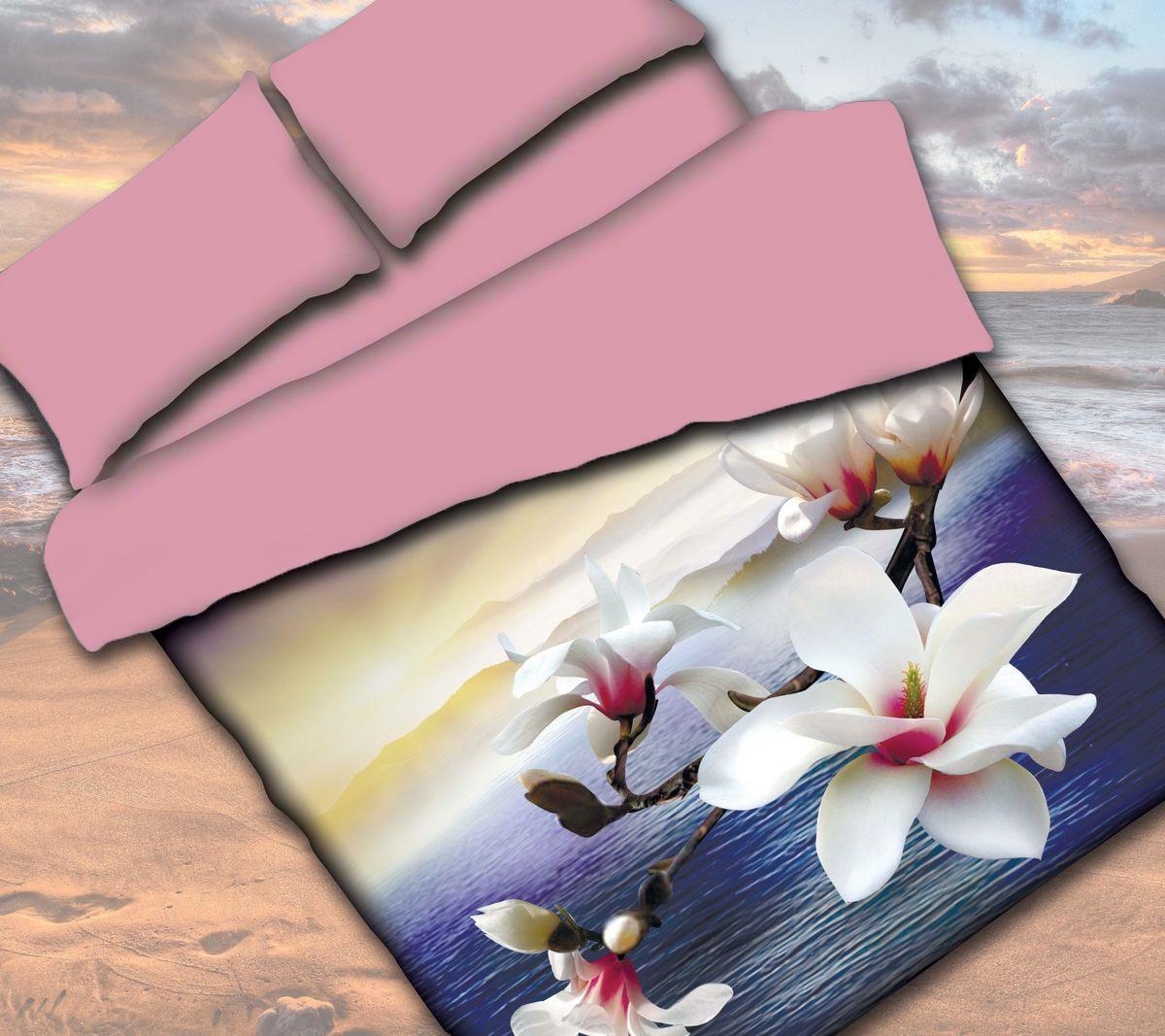 Комплект белья Коллекция Орхидея, 2-спальный, наволочки 50x70 смПРКЛ2,5/70/ОЗ/крКомплект постельного белья включает в себя четыре предмета: простыню, пододеяльник и две наволочки, выполненные из сатина.Сатин - гладкая и прочная ткань, которая своим блеском, легкостью и гладкостью похожа на шелк, но выгодно отличается от него в цене. Сатин практически не мнется, поэтому его можно не гладить. Ко всему прочему, он весьма практичен, так как хорошо переносит множественные стирки. Размер пододеяльника: 175x 210 см.Размер простыни: 220 x 224 см.Размер наволочек: 50 x 70 см.