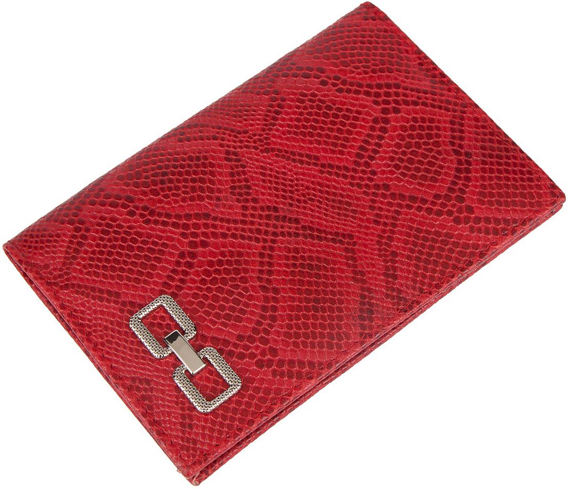 Обложка для паспорта женская Labbra, цвет: красный. L051-1613BM151002Обложка для водительских документов торговой марки LABBRA. Внутри есть множество файлов для документов. Модель не закрывается.