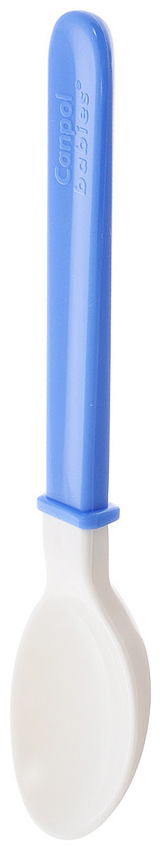 Canpol Babies Ложка для кормления от 4 месяцев цвет синий4С0497/1Ф34Ложка для кормления с мягким наконечником предназначена для кормления малышей от 4 месяцев. Вся ложка выполнена из мягкого материала, что позволяет полностью безопасно кормить малыша, не боясь повредить его нежные десны. Дополнительно ложку можно использовать во время прорезывания зубов в качестве прорезывателя. Бренд Canpol babies уже более 25 лет помогает мамам во всем мире растить своих малышей здоровыми и счастливыми.
