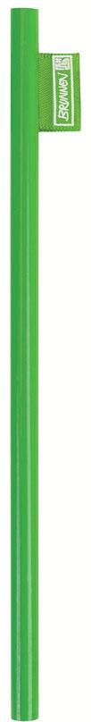 Brunnen Карандаш чернографитный цвет корпуса зеленый72523WDЧернографитовый карандаш Brunnen - необходимый предмет на каждом письменном столе. Корпус карандаша выполнен из высококачественной и натуральной древесины, а его эргономичная форма позволяет карандашу удобно ложиться в руку и обеспечивает комфортное письмо. Карандаш легко затачивается.Чернографитовый карандаш пригодится как в учебе, так и на работе.