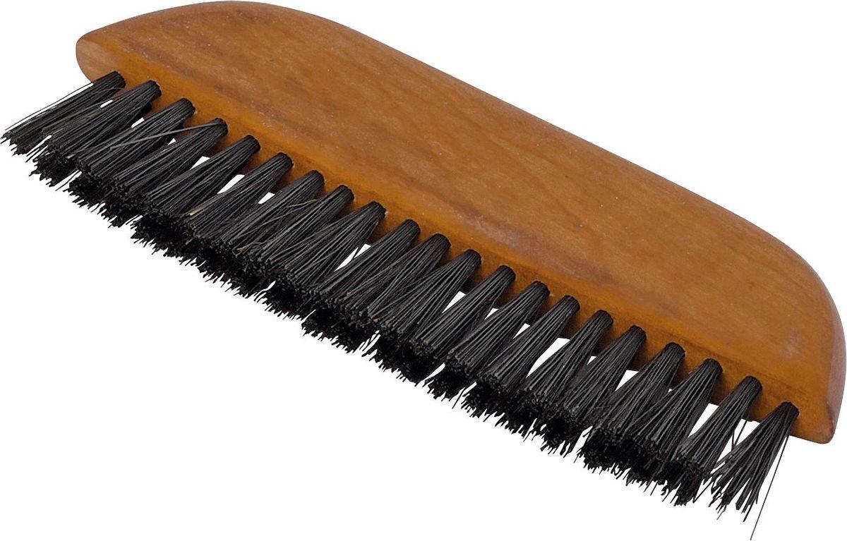 Щетка для одежды Redecker, карманная, длина 13,5 см54 159921Маленькая щётка для одежды. Сделана из промасленной древесины грушевого дерева и жесткой тёмной щетины. Легко помещается в сумочку, кошелек или карман. Отлично справится с небольшими загрязнениями, которые образовались на вашей одежде. Кроме того, щётку можно использовать как свипер для стола, чтобы смахивать с него крошки и мелкий мусор. Длина - 13,5 см.