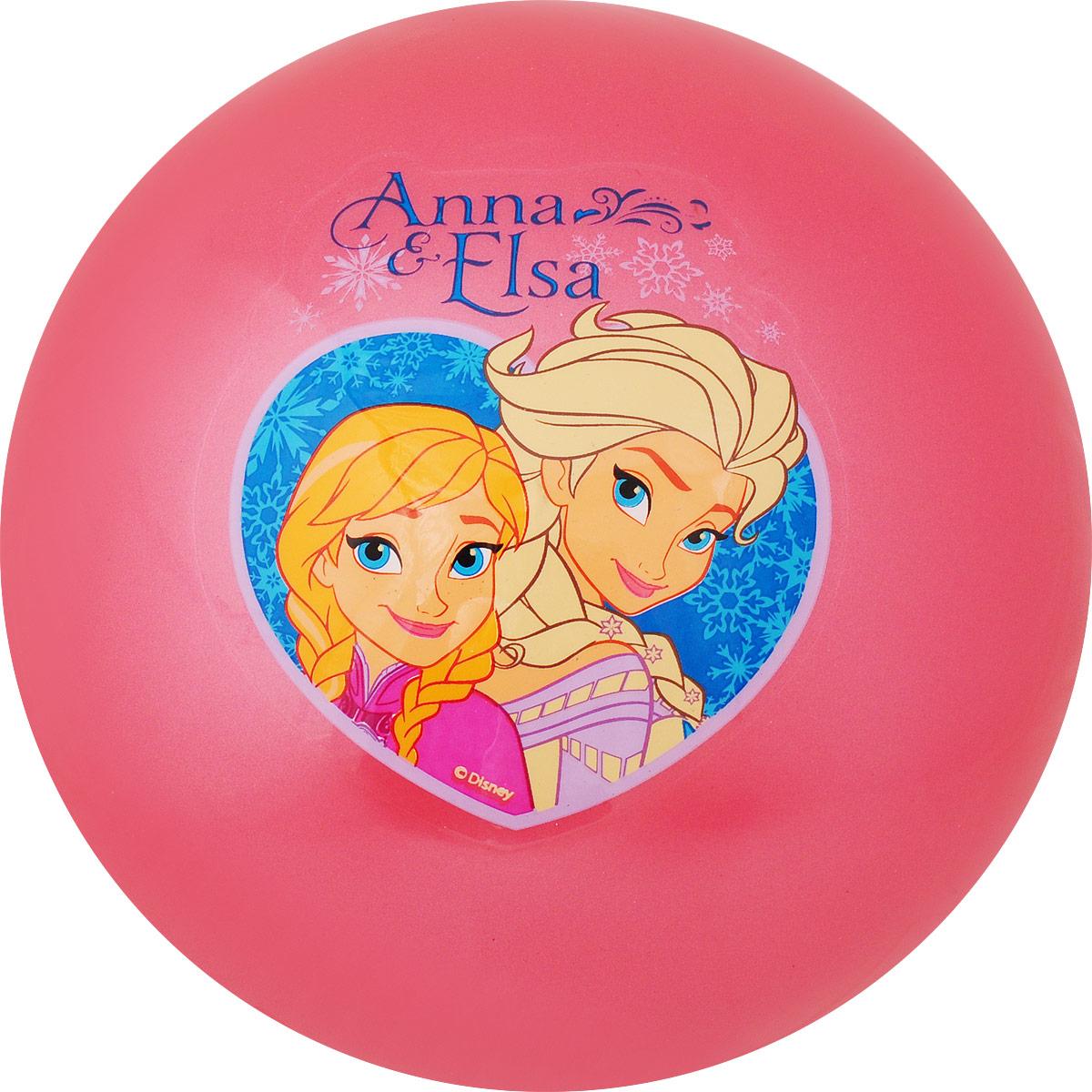 Играем вместе Мяч Холодное Сердце цвет розовый 23 см