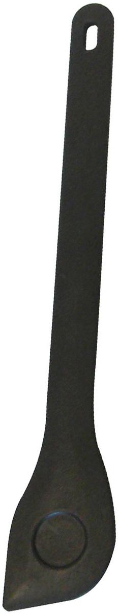 Ложка для помешивания Axentia, длина 30 см54 009312Ложка Axentia изготовлена из полиамида, который не царапает покрытие кастрюль и сковородок. Такая ложка идеально подходит для приготовления и помешивания пищи. Ручка изделия оснащена отверстием для подвешивания на крючок. Можно мыть в посудомоечной машине.Длина ложки: 30 см.