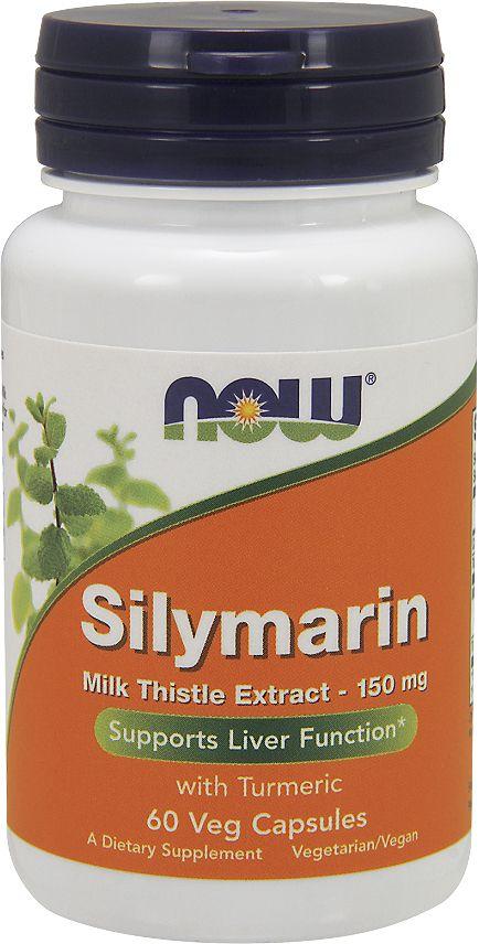 Для поддержания здоровья печени Now Foods  Silymarin 150 mg , 60 капс - Витамины, минералы, комплексы