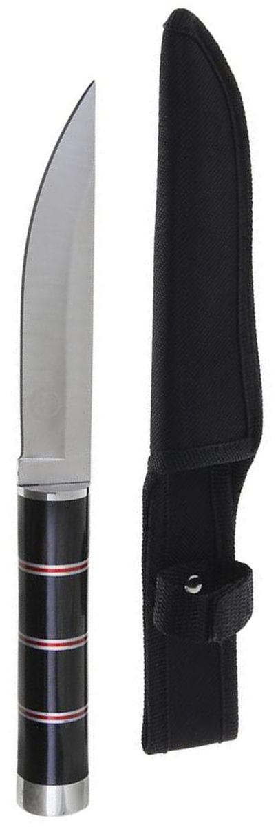 Нож разделочный Командор, длина лезвия 13,9 см. 12775871277587Лезвие ножа Командор выполнено из стали, рукоять - из дерева. Нож практически не подвержен износу и способен служить годами. Такой инструмент будет вашим постоянным спутником во время охоты или рыбалки.Нож - неотъемлемый атрибут настоящего мужчины. Издревле ножи и клинки вручались знатным особам за проявление отваги и чести на военной службе. Такие подарки очень ценились и становились семейными реликвиями. Сегодня нож - это прекрасный подарок, который подойдет любому мужчине.Длина лезвия: 13,9 см.Длина рукояти: 12,1 см.В комплекте чехол из текстиля.