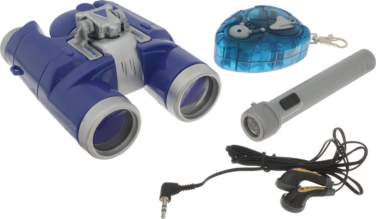 MISSIYA Игровой набор Суперагент Звуковой бинокль бинокль астрономический бас 2 30х90
