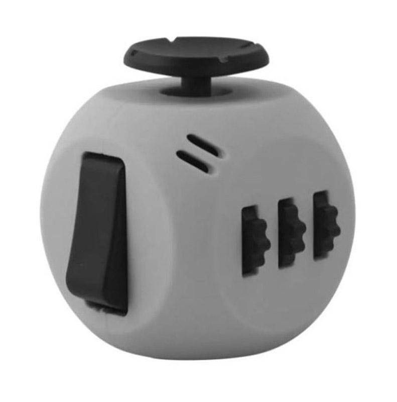 Fidget Cube 3.0 Air Игрушка-антистресс цвет серый черный - Развлекательные игрушки