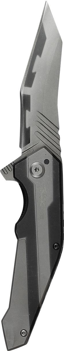 Нож складной Track Steel. 55461011.3653.72Складной нож Track Steel всегда найдет себе применение на даче или в гараже, на рыбалке или охоте. Малые габариты делают его удобным при частой транспортировке. Лезвие выполнено из высококачественной нержавеющей стали. Изделие имеет удобную рукоятку. Нож снабжен прочным чехлом из нейлона.Длина клинка: 88 мм.Толщина клинка: 3,8 мм.Общая длина ножа: 210 мм.