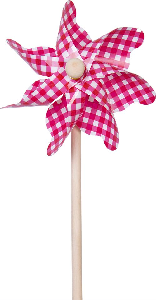 Fresh Trend Вертушка Ветрячок Красная клетка 31 см