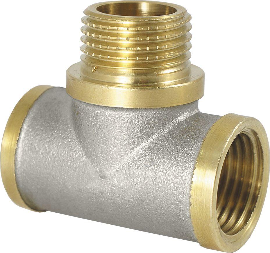 Тройник Smart NS, с ограничителем, резьба: внешняя-внутренняя, 3/4ИС.072539Тройник SMART NS 3/4 с ограничителем - это резьбовая соединительная деталь, которая используется для создания разъемных резьбовых соединений на трубопроводах холодного питьевого, хозяйственного и горячего водоснабжения, отопления, сжатого воздуха и на технологических трубопроводах, транспортирующих газы и жидкости, неагрессивные к материалу соединителей.Нормативный срок службы: 30 лет.Максимальная рабочая температура: +200°С.Максимальное рабочее давление: 40 бар.