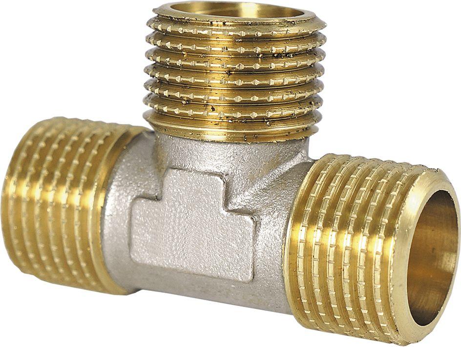 Тройник Smart NS, резьба: наружная-наружная, 3/4ИС.110326Тройник SMART NS 3/4 - это резьбовая соединительная деталь, которая используется для создания разъемных резьбовых соединений на трубопроводах холодного питьевого, хозяйственного и горячего водоснабжения, отопления, сжатого воздуха и на технологических трубопроводах, транспортирующих газы и жидкости, неагрессивные к материалу соединителей.Нормативный срок службы: 30 лет.Максимальная рабочая температура: +200°С.Максимальное рабочее давление: 40 бар.