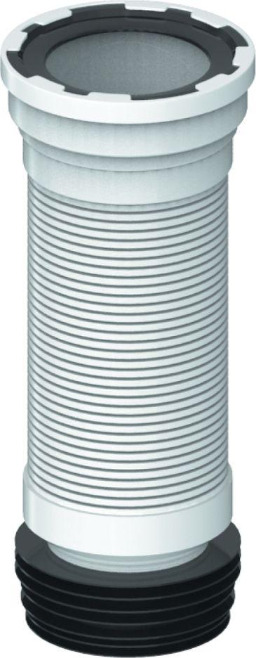 Unicorn Слив толкостенный (гофра) для унитазаBL505Гибкий отвод для выпуска унитаза 520 ммПрименение- комплектующие для унитазов