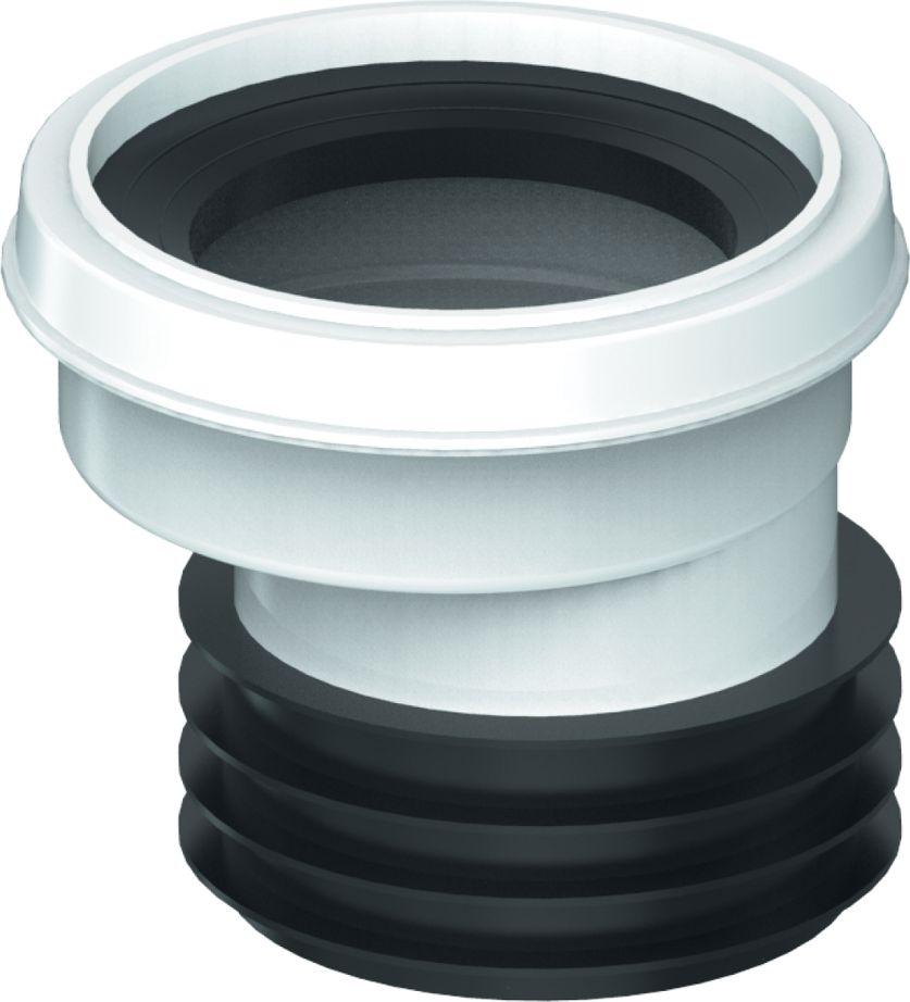 Unicorn Манжета для унитаза эксцентрик 110BL505Соединительный отвод для унитаза со смещением 20 ммПрименение- комплектующие для унитазов