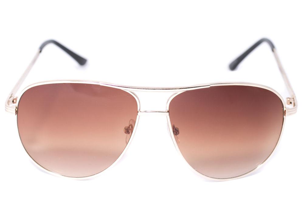 Очки солнцезащитные Mitya Veselkov, цвет: коричневый. OS-235BM8434-58AEСтильные солнцезащитные очки-авиаторы Mitya Veselkov прекрасно подходят для повседневной носки и отдыха. Акрил, используемый при изготовлении линз, не искажает изображение, не подвержен нагреванию и вредному воздействию солнечных лучей. Высокоэффективный ультрафиолетовый фильтр защитит ваши глаза от ультрафиолета, повреждений и ярких солнечных лучей.Легкая металлическая оправа дополнена носоупорами, что обеспечивает максимальный комфорт. Очки Mitya Veselkov - это эффектный аксессуар, который станет изюминкой вашего индивидуального стиля.