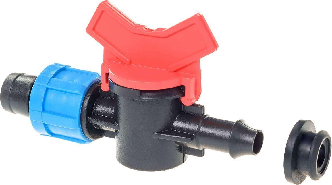 Кран стартовый MasterProf, для ленты капельного полива, с уплотнительной резинкойGAKP12-095Стартовый кран позволяет соединить капельную ленту с трубой ПНД (после перфорирования трубы сверлом или специальным пробойником и последующей установки резинового уплотнителя), с ёмкостью для воды (врезка аналогично трубе).Уважаемые клиенты! Обращаем ваше внимание на возможные изменения в цвете деталей товара. Поставка осуществляется в зависимости от наличия на складе.